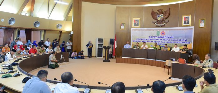 Status Siaga Darurat Karhutla Riau Diperpanjang Hingga November