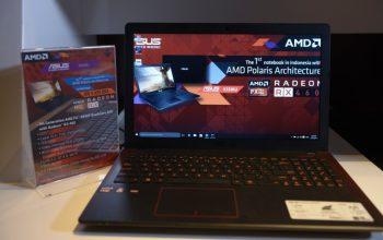 Permalink ke ASUS X550IU Notebook Gaming Pertama dengan AMD Polaris