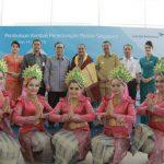 Menpar  Lepas Penerbangan Perdana Garuda Rute Singapura-Medan.