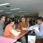 Wapres Tinjau KPT di Gedung 9 Lantai Pemprov Riau