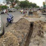 Proyek Galian PDAM Bikin Wajah Kota Pekanbaru Jadi Kotor dan Kumuh