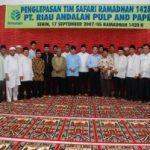 Tim Safari Ramadhan Riaupulp, Kunjungi 188 Desa di 7 Kabupaten/Kota