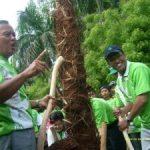 Riaupulp Hijaukan Lingkungan Gelora Senayan