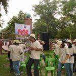 Ratusan Wartawan Unjuk Kebolehan dan Kekompakkan di Alam Mayang