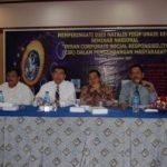 Direktur CSR Riaupulp Bentangkan Makalah di Unair Surabaya