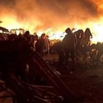 Gubri Tinjau Korban Kebakaran Pasar Cik Puan
