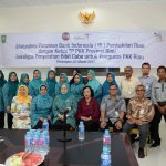 Silaturahmi Pimpinan Bank Indonesia Perwakilan Riau dengan TP PKK Prov Riau